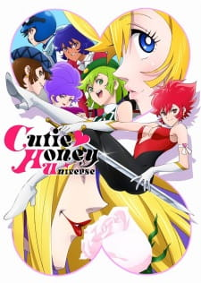 Cutie Honey Universe Dub